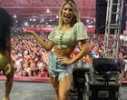 Lore cancela voo para Bahia para comemorar título da Viradouro