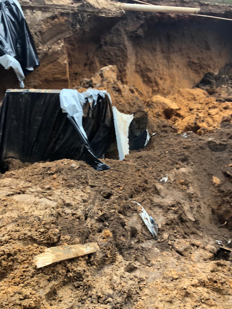 Quatro homens são soterrados em obra em Teresina 4