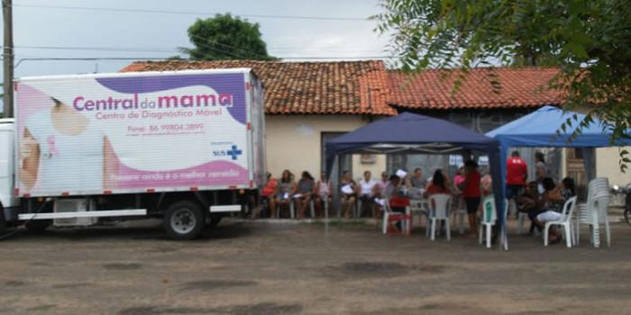 Prefeitura realiza exames de mamografia prevenindo câncer de mama