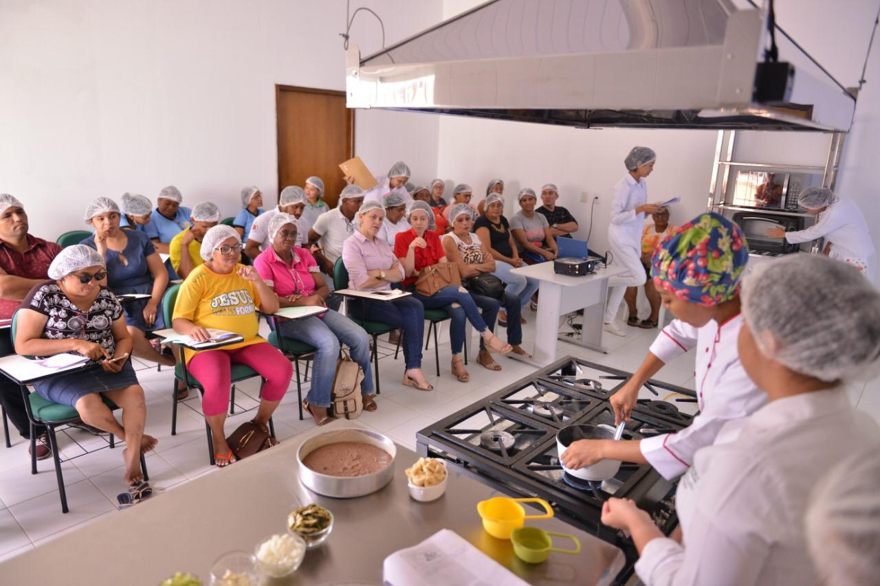 Banco de Alimentos da Nova Ceasa realiza 3ª Oficina Gastronômica - Imagem 2