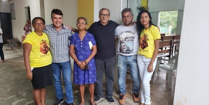 Adesões e abertura dos festejos de São José marcam agenda do prefeito João Luiz