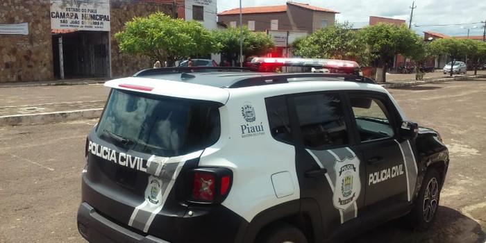 Policia  realiza  blitz preventiva em São João da Serra