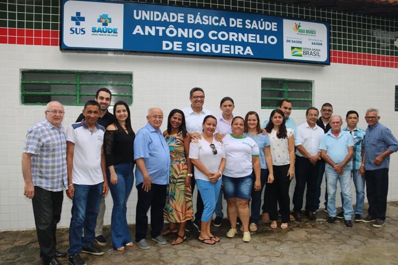 Prefeito Jonas Moura entrega obras de quatro Postos de Saúde em Água Branca - Imagem 3