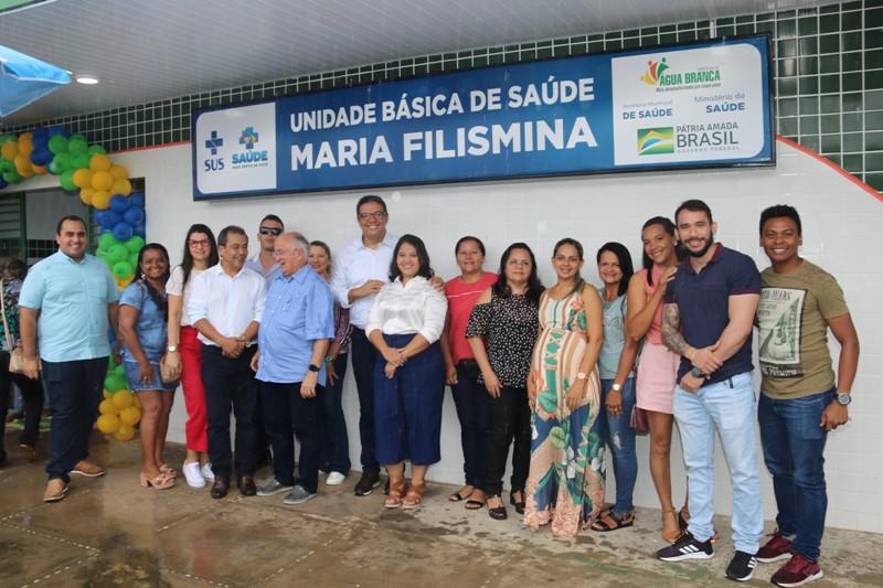 Prefeito Jonas Moura entrega obras de quatro Postos de Saúde em Água Branca - Imagem 2