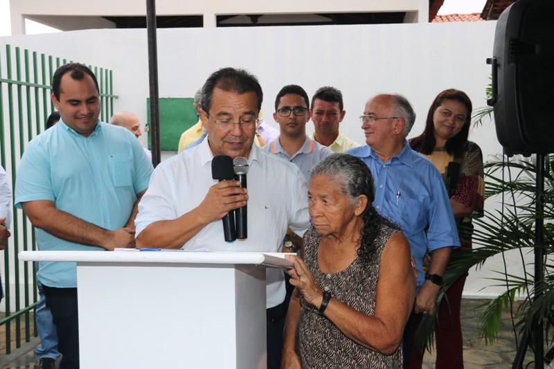 Prefeito Jonas Moura entrega obras de quatro Postos de Saúde em Água Branca - Imagem 7