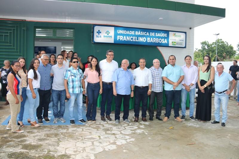 Prefeito Jonas Moura entrega obras de quatro Postos de Saúde em Água Branca - Imagem 1