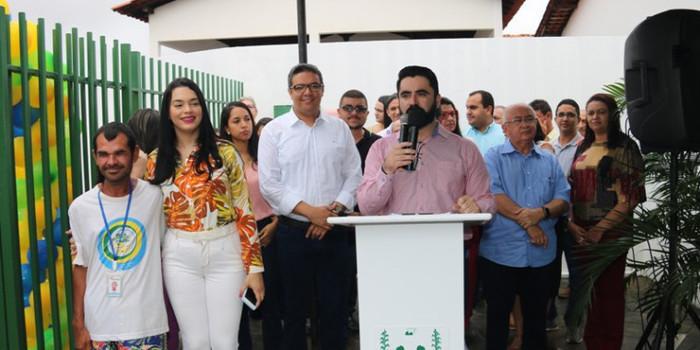 Prefeito Jonas Moura entrega obras de quatro Postos de Saúde em Água Branca