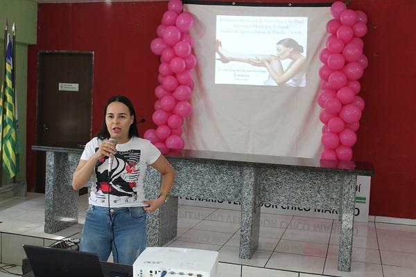 Mulheres participam de palestra sobre prevenção do câncer do colo do útero  - Imagem 7