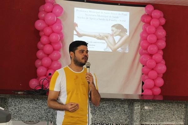 Mulheres participam de palestra sobre prevenção do câncer do colo do útero  - Imagem 13