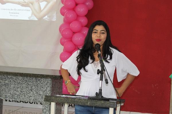 Mulheres participam de palestra sobre prevenção do câncer do colo do útero  - Imagem 9