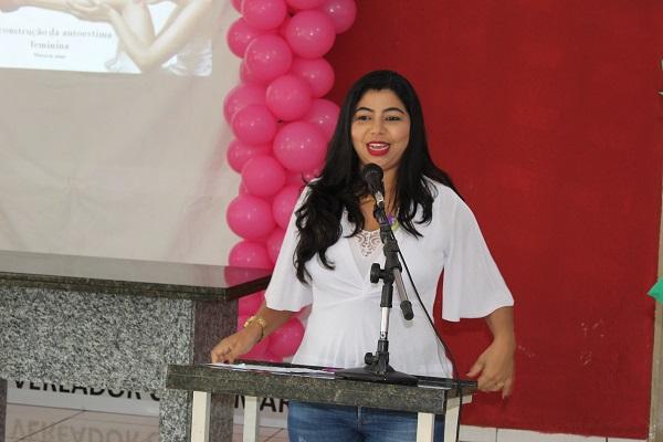 Mulheres participam de palestra sobre prevenção do câncer do colo do útero  - Imagem 10