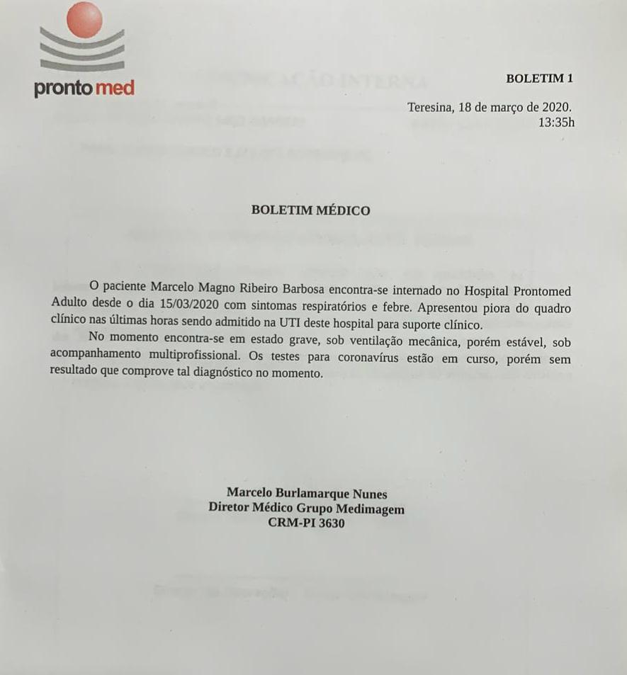 Apresentador Marcelo Magno é transferido para UTI e está entubado - Imagem 2