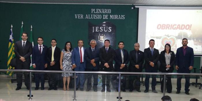 Jonas Moura ressalta avanços de Água Branca em abertura do Ano Legislativo