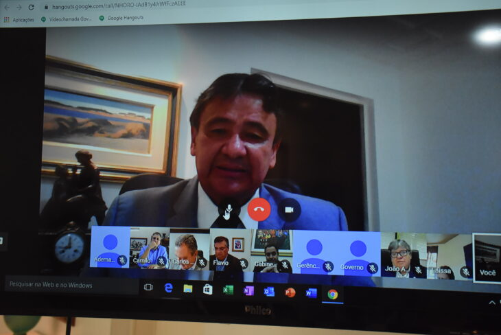 Governadores do NE  formalizam Comitê de Operações contra o COVID-19 - Imagem 3