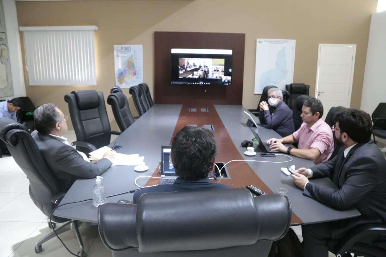 Covid-19:W.Dias acerta com Governo Federal medidas pra enfrentar crise - Imagem 1