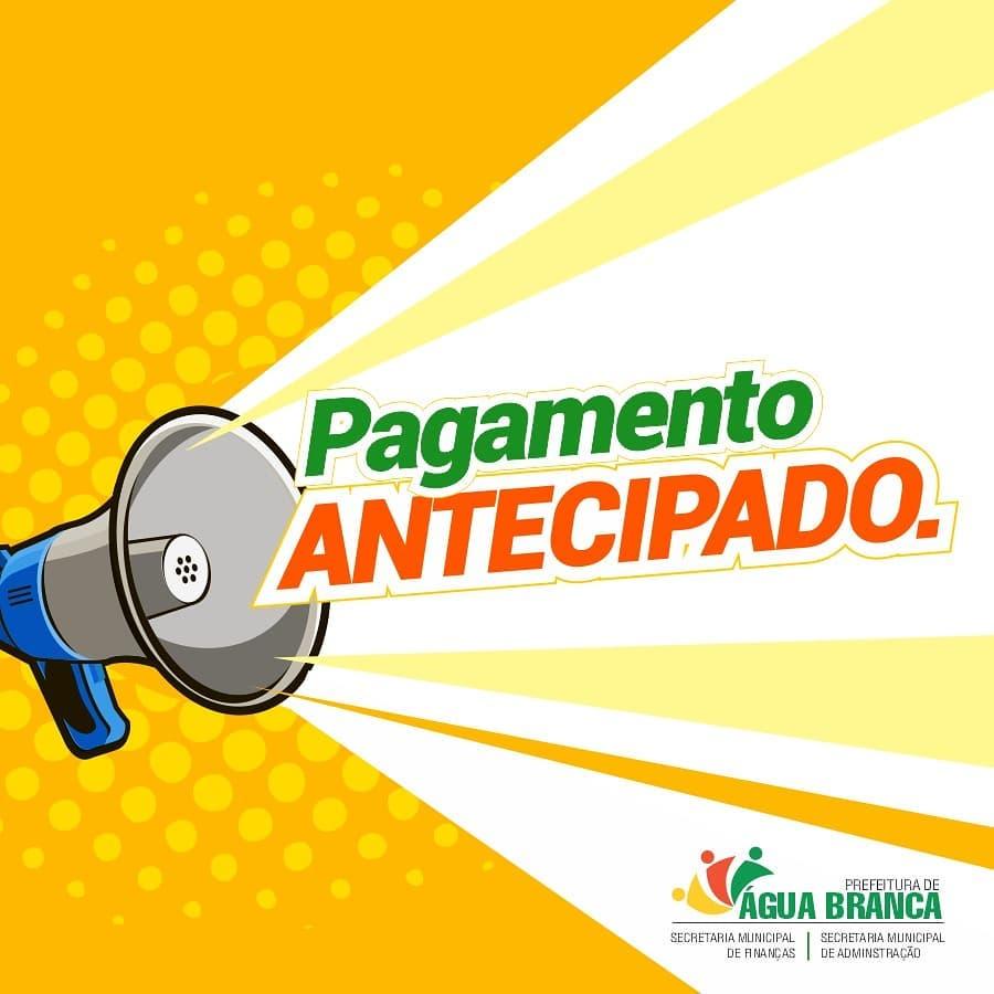 Prefeitura de Água Branca antecipa salários dos servidores municipais - Imagem 1