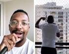 Quarentena: Mumuzinho faz show na varanda e surpreende vizinhos; vídeo