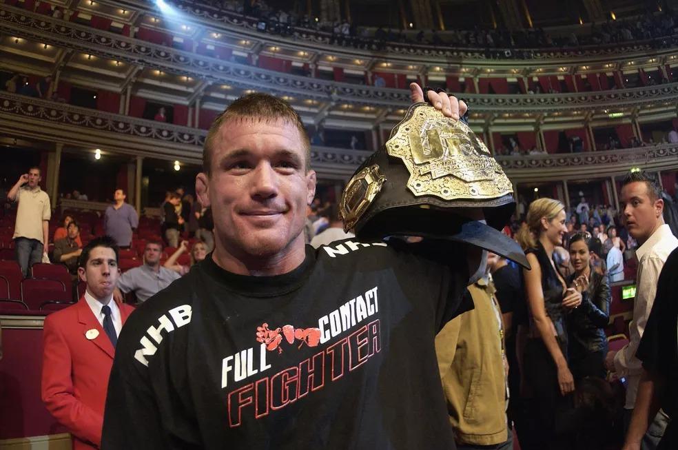 Matt Hughes fez sua estreia no, UFC ainda em 1999 — Foto: John Gichigi/Getty Images