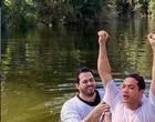 Wesley Safadão é batizado em Israel