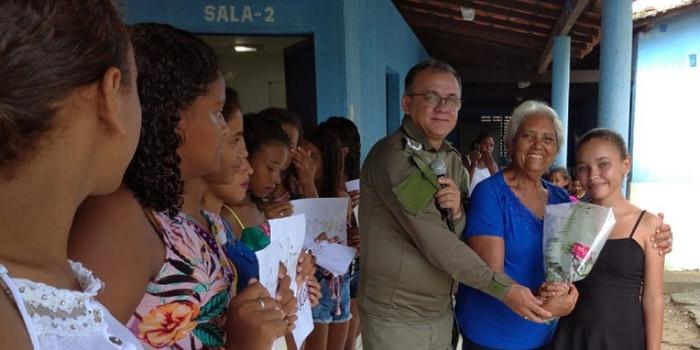 Pelotão Mirim promoveu evento em homenagem ao Dia Internacional da Mulher