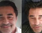 Luciano Szafir surpreende ao aparecer seis quilos mais magro