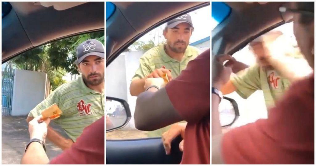 Juninho Pernambucano oferece ajuda a morador de rua agredido com tapa - Imagem 1