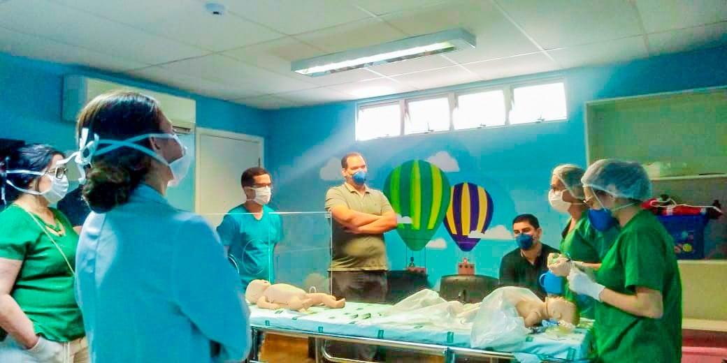 Profissionais da saúde intensificam treinamentos na pandemia - Imagem 1