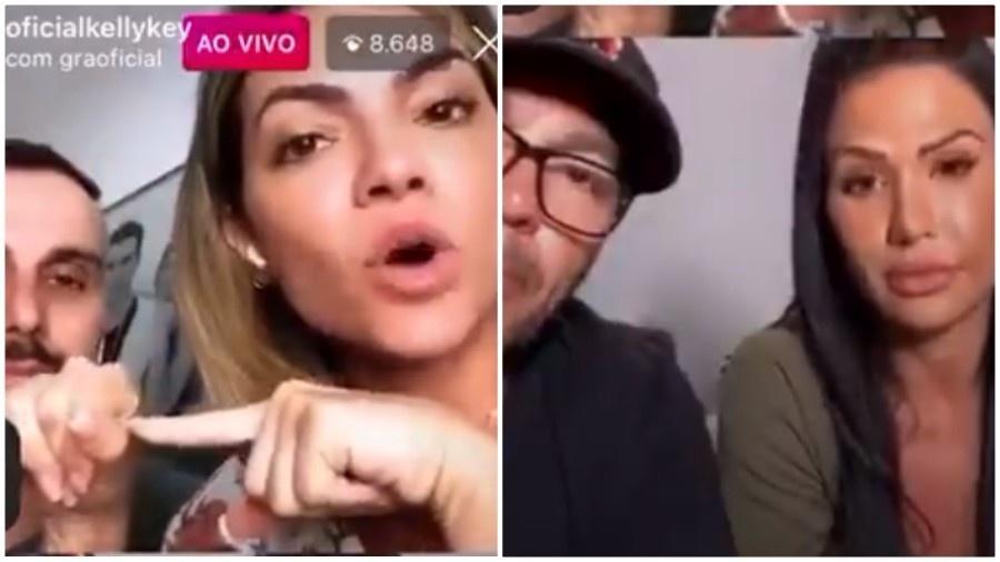 Kelly Key dá aula de sexo anal para Gracyanne Barbosa e Belo  - Imagem 1
