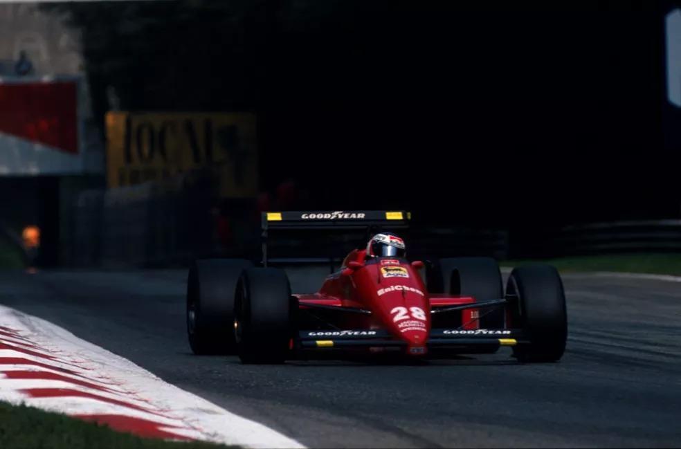 Gerhard Berger conquistou em Monza única da Ferrari em 1988 — Foto: Reprodução