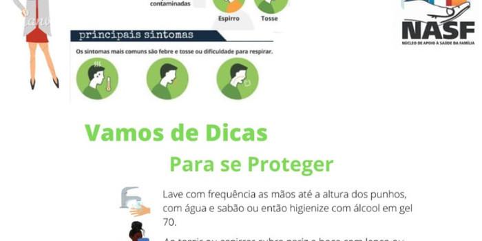 Prefeitura lança panfleto dando dicas contra Coronavírus