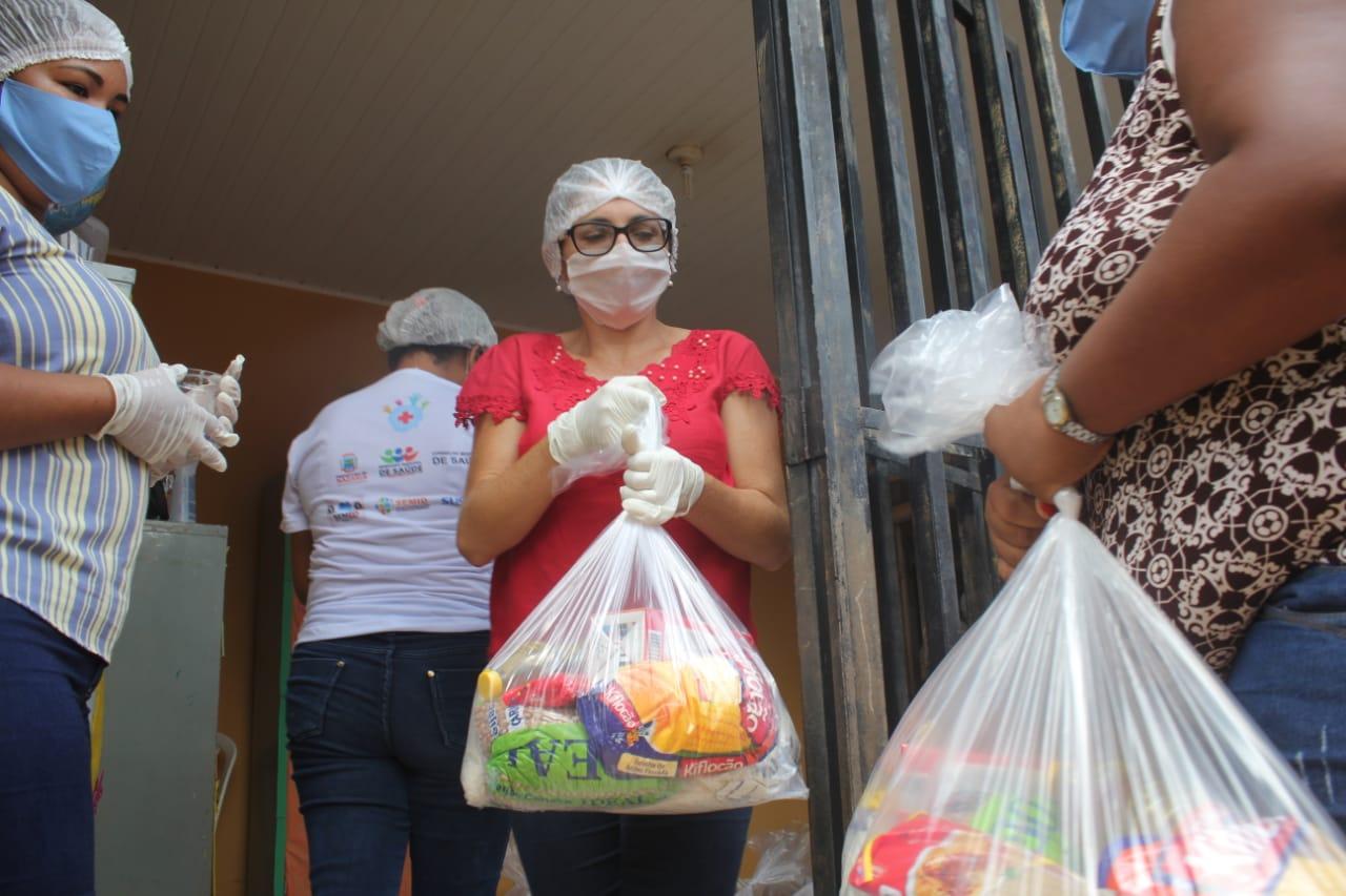 Nazária: mais de 500 famílias já receberam kits de alimentos - Imagem 1