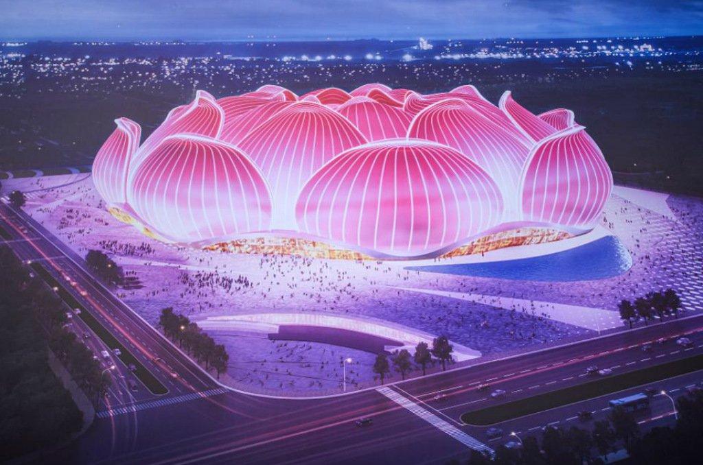 Arena deve ser concluída em 2022. Foto/Reprodução