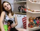 Larissa Manoela mostra coleção de bonecas no seu quarto