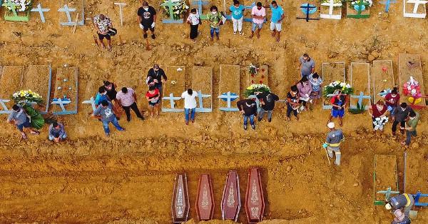 Covid-19: Manaus bate recorde na pandemia com 140 enterros