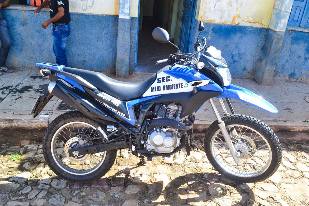 Prefeitura de Joaquim Pires adquire motocicleta para Secretaria do Meio Ambiente - Imagem 2