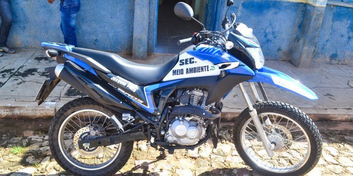 Prefeitura de Joaquim Pires adquire motocicleta para Secretaria do Meio Ambiente