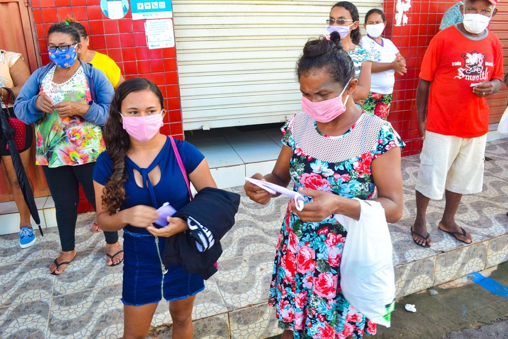 SMS de Joaquim Pires distribui máscaras e álcool em gel - Imagem 2