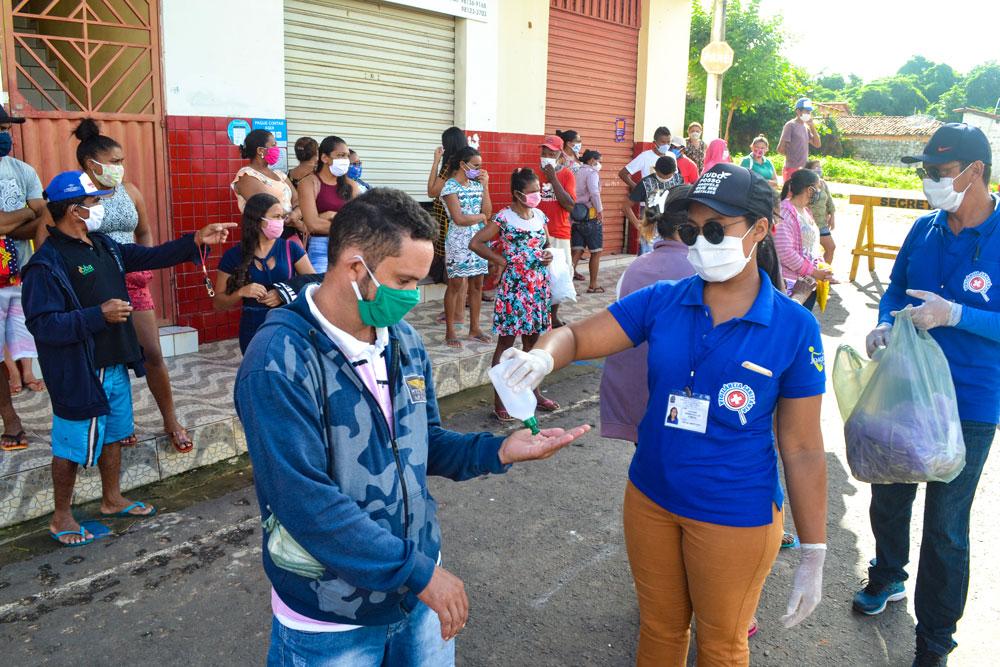 SMS de Joaquim Pires distribui máscaras e álcool em gel - Imagem 6