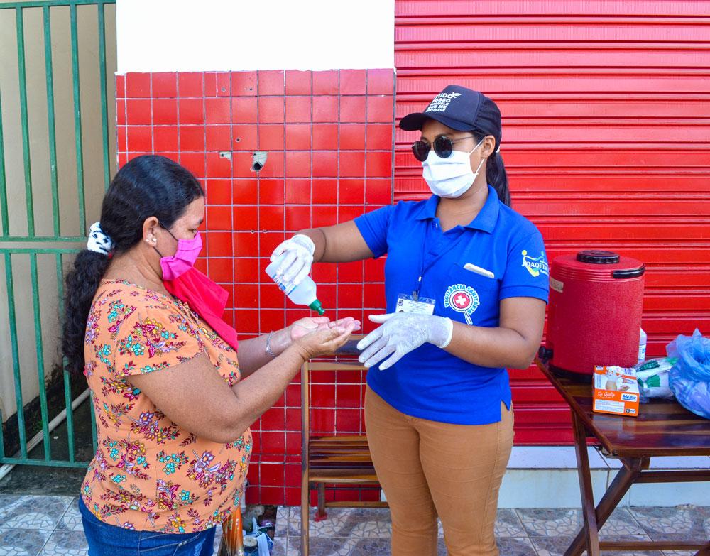 SMS de Joaquim Pires distribui máscaras e álcool em gel - Imagem 1