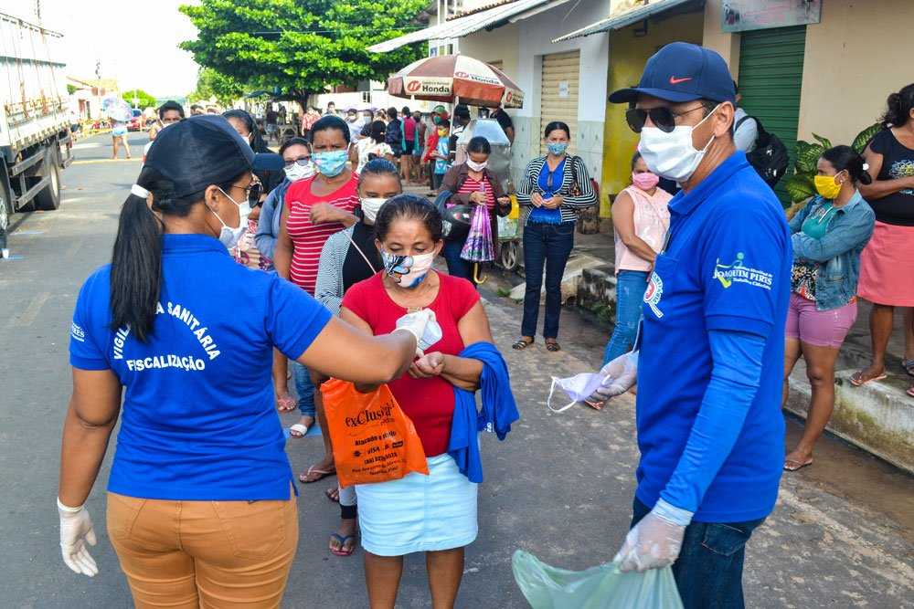 SMS de Joaquim Pires distribui máscaras e álcool em gel - Imagem 8
