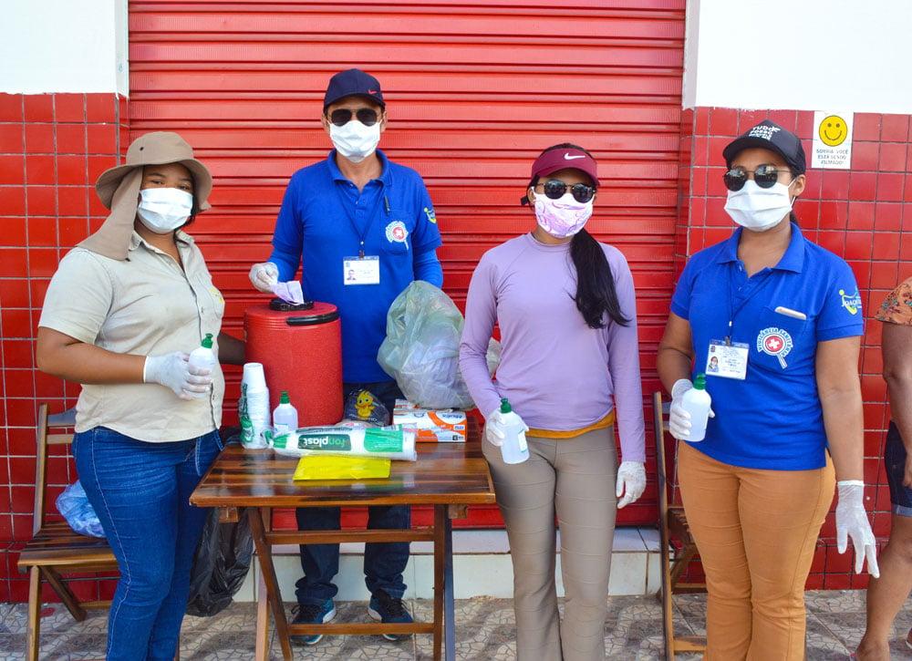 SMS de Joaquim Pires distribui máscaras e álcool em gel - Imagem 7