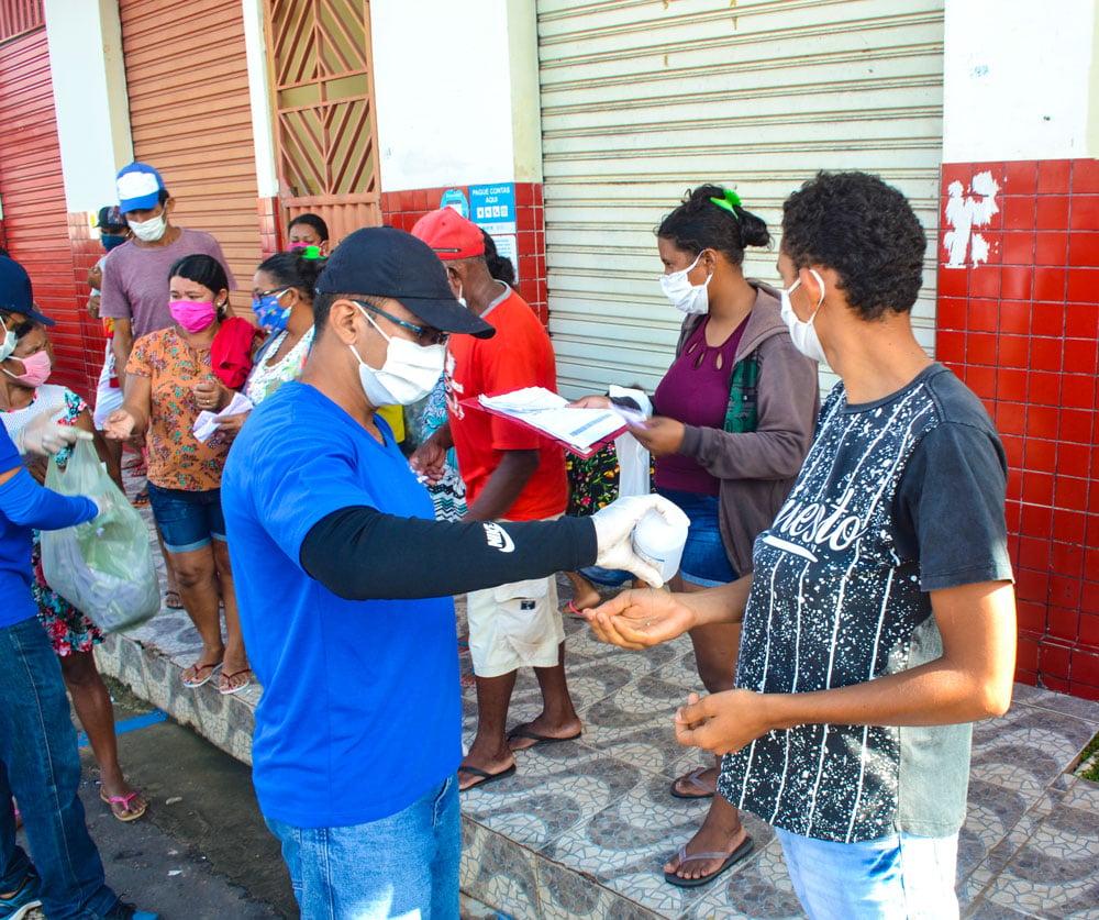 SMS de Joaquim Pires distribui máscaras e álcool em gel - Imagem 5