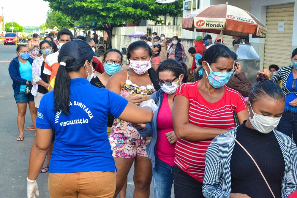 SMS de Joaquim Pires distribui máscaras e álcool em gel - Imagem 9