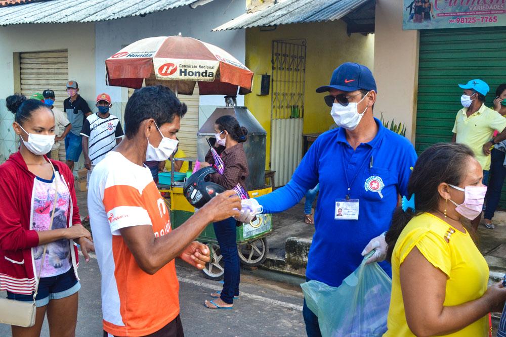SMS de Joaquim Pires distribui máscaras e álcool em gel - Imagem 10