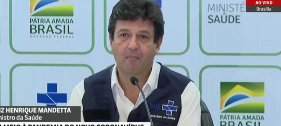 """Mandetta diz que continua como ministro da Saúde: """"Reunião produtiva""""  - Imagem 1"""