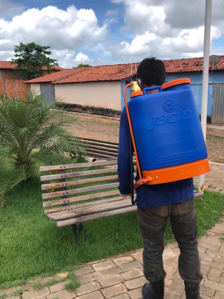 Prefeitura de Joaquim Pires realiza sanitarização em locais públicos - Imagem 7