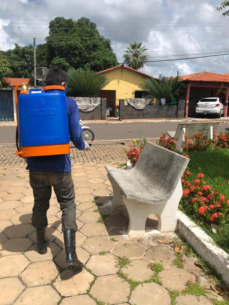 Prefeitura de Joaquim Pires realiza sanitarização em locais públicos - Imagem 6