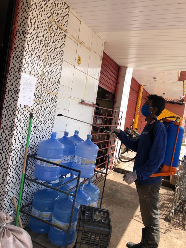 Prefeitura de Joaquim Pires realiza sanitarização em locais públicos - Imagem 11