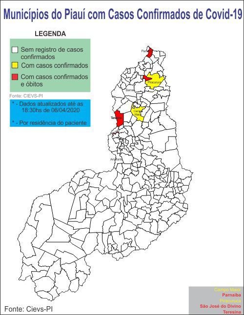 Casos confirmados de coronavírus sobem para 26 no PI, diz Sesapi - Imagem 2