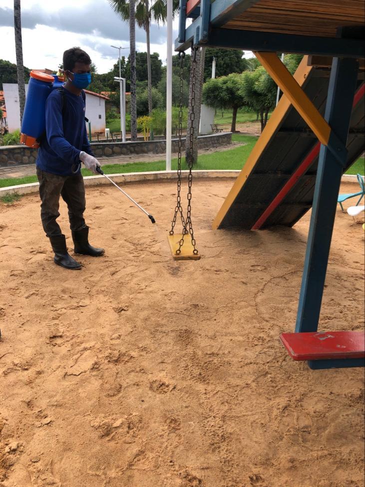 Prefeitura de Joaquim Pires realiza sanitarização em locais públicos - Imagem 12